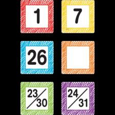 Scribble Calendar Days
