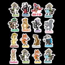 Ranger Rick Stickers