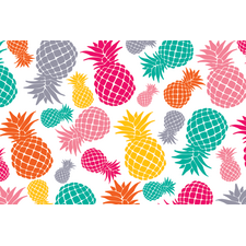 Tropical Punch Pineapples Postcards