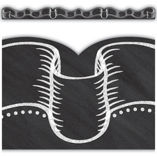 Chalkboard Ribbon Die-Cut Border Trim