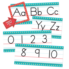 Marquee Alphabet Line Bulletin Board Display Set