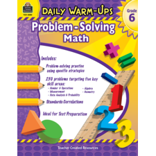 Daily Warm-Ups: Problem Solving Math Grade 6