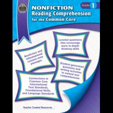 Nonfiction Reading Comprehension for the Common Core Grade 1