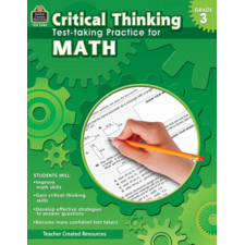 Critical Thinking: Test-taking Practice for Math Grade 3