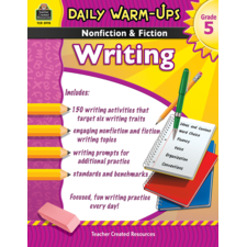 Daily Warm-Ups: Nonfiction & Fiction Writing Grade 5