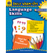 Daily Warm-Ups: Language Skills Grade 2