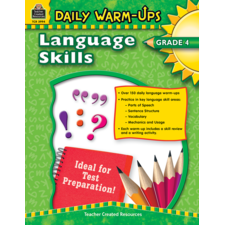 Daily Warm-Ups: Language Skills Grade 4