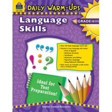 Daily Warm-Ups: Language Skills Grade 6