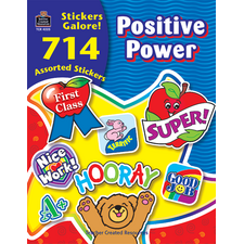Positive Power Sticker Book