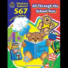 All Through the School Year Sticker Book
