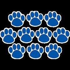 Blue Paw Prints Accents