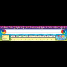 Cursive Writing Super Jumbo Name Plates