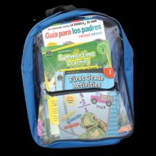 Preparing For First Grade Spanish Backpack