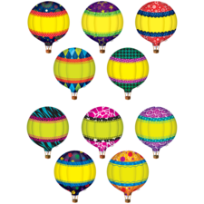 Hot Air Balloons Accents