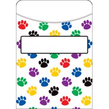 Paw Prints Library Pockets