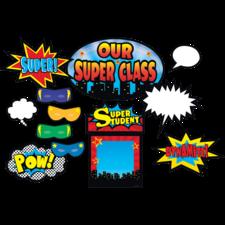 Superhero Bulletin Board Display Set
