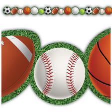 Sports Die-Cut Border Trim