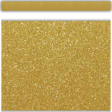 Gold Shimmer Straight Border Trim