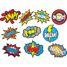 Superhero Sayings Accents