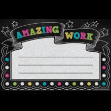 Chalkboard Brights Amazing Work Awards