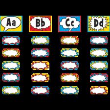 Superhero Alphabet Word Wall Bulletin Board Display Set