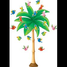 Tropical Trees Bulletin Board Display Set