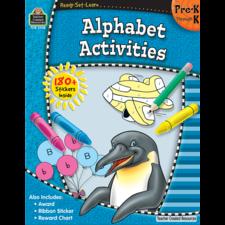 Ready-Set-Learn: Alphabet Activities PreK-K