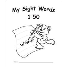 My Own Books: Sight Words 1–50