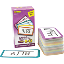 Division Flash Cards - All Facts 0–12