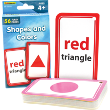 Shapes and Colors Flash Cards
