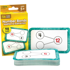 Number Bonds Flash Cards - Addition and Subtraction