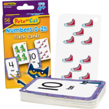 Pete the Cat® Numbers 0-25 Flash Cards