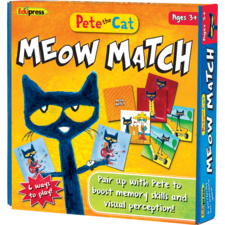 Pete the Cat Meow Match Game