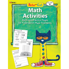 Pete the Cat Math Workbook Grade K