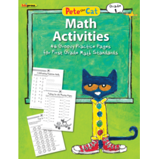 Pete the Cat Math Workbook Grade 1