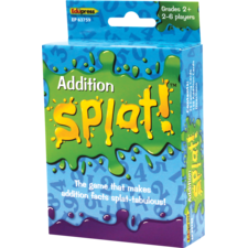 Math Splat Game: Addition