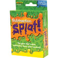 Math Splat Game: Subtraction