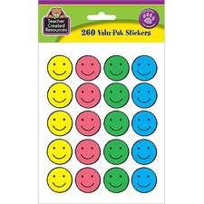Happy Face Stickers Valu-Pak