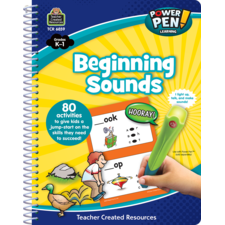 Power Pen Learning Book: Beginning Sounds