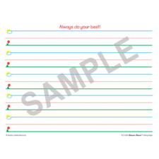 Smart Start K-1 Writing Paper: 40 Sheet Tablet