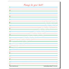 Smart Start 1-2 Writing Paper: 40 Sheet Tablet