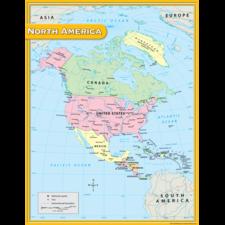 North America Map Chart