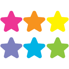 Spot On Bright Stars Carpet Markers - 7""