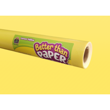 Lemon Yellow Better Than Paper Bulletin Board Roll