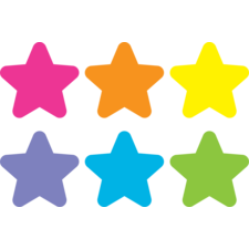 "Spot On Carpet Markers Bright Stars - 4"""