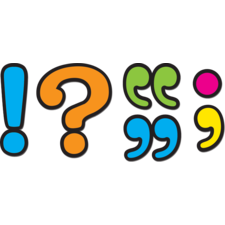 Punctuation Marks Magnetic Accents