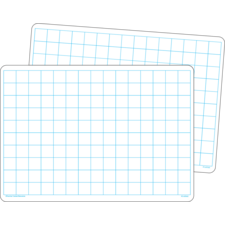 Double-Sided Math Grid Dry Erase Boards