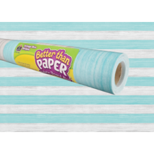 Vintage Blue Stripes Better Than Paper Bulletin Board Roll