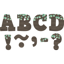 "Eucalyptus Bold Block 3"" Magnetic Letters"