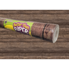 Dark Wood Better Than Paper Bulletin Board Roll